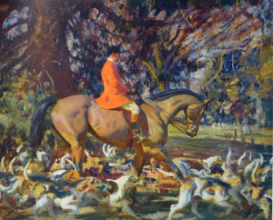 "Sir Alfred James Munnings Exhibition ""Out in the Open"" at the National Sporting Library and Museum"