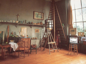 Visiting Cezanne's Studio in Aix en Provence, France