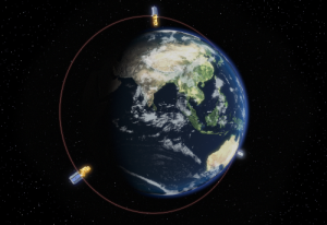 SSTL-300S1 Illustrations for Surrey Satellite Technology