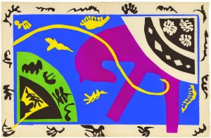 Henri Matisse: The  Cut Outs at the Museum of Modern Art in New York