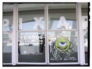 WELCOME TO THE PIXAR WORLD