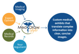 Medical Legal Trial Exhibits: Working with a Medical Illustrator