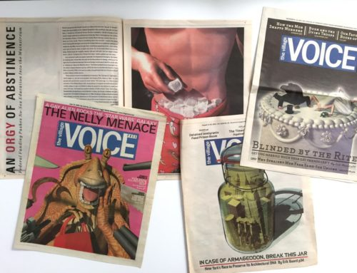 Additional Village Voice illustrations by Marc Phares