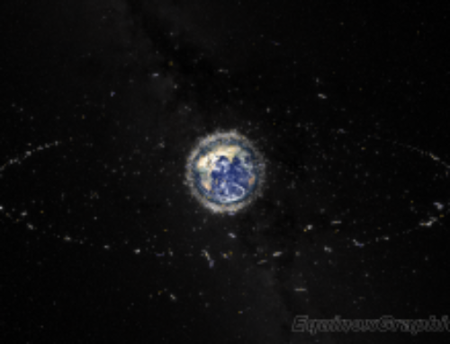 Space Debris illustration