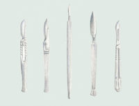 Emme Cheng - Surgical Knives Illustration