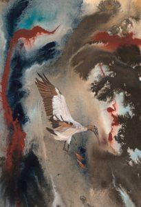 Dorie Petrochko -A Perilous Landing Illustration