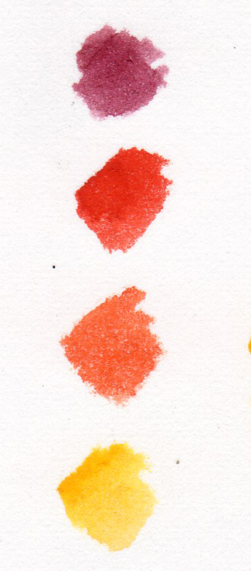 rowan, colour swatch,