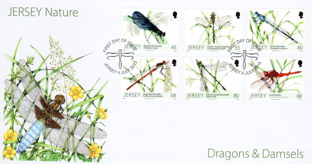 Jersey post dragonflies