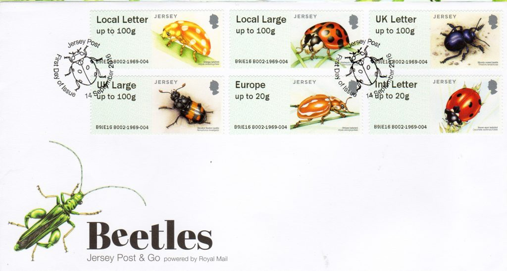 Jersey Post Beetles Post and go