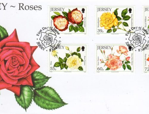Jersey Post: Coastal Flowers Stamp issue